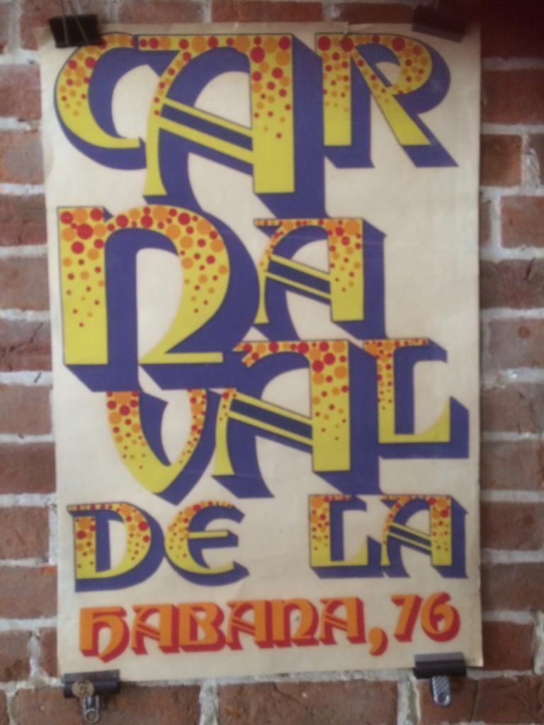 RAV013 Carnivale poster