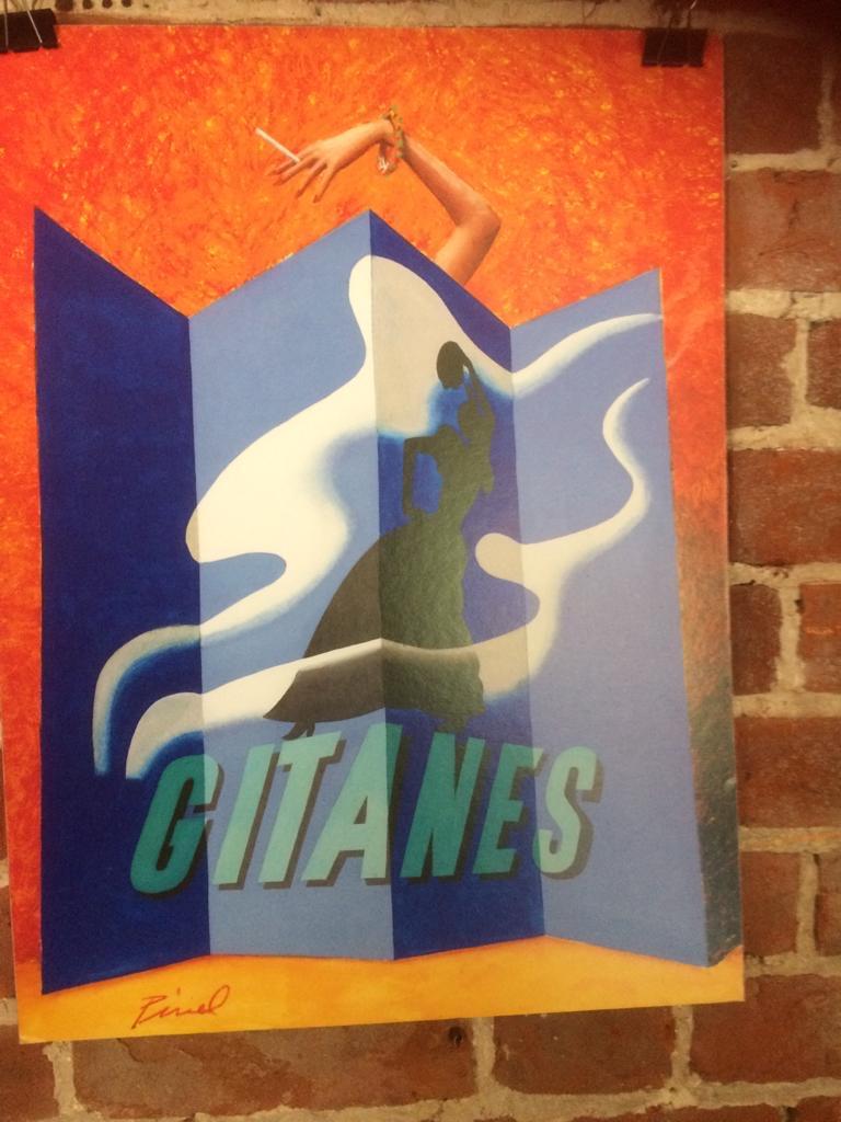 RAV021 Gitanes Poster